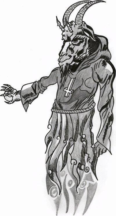 Dessin diable blog de skull - Dessin de demon ...