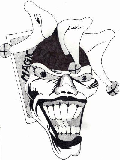 Dessin Joker Old School Blog De Skull