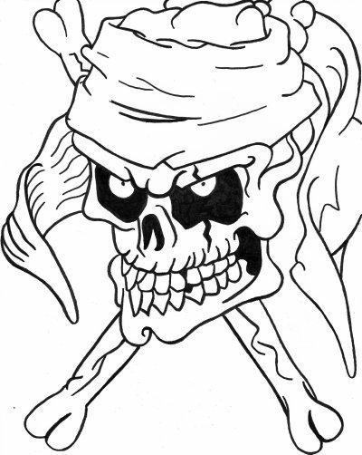 dessin pirate - Dessin De Pirate