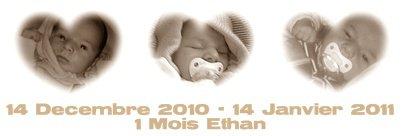 Ethan 1 Mois ♥