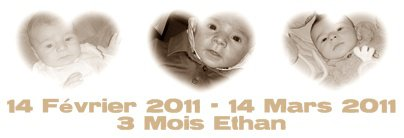 Ethan 3 Mois ♥