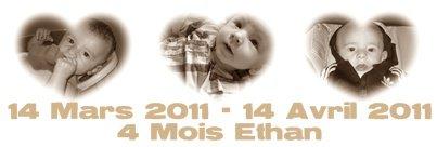 Ethan 4 Mois  ♥