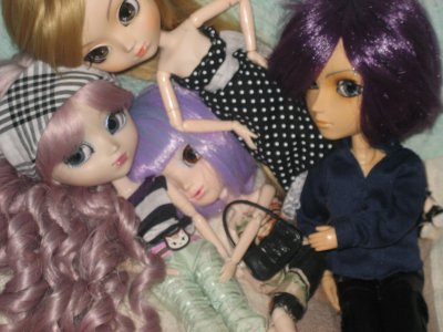 Mes pullips ^^