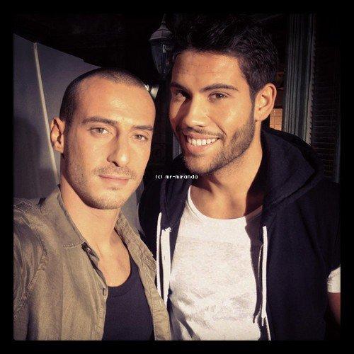 « 12 ocotobre 2012  -  Photo avec  Kevin et Sebastien Soudais alias Franck ♥ »