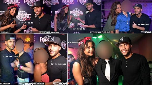 « 20 ocotobre 2012  -  Photo de la soirée à la Pagode club avec Julia♥ »