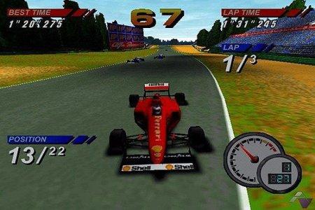 Formula One 97: le test