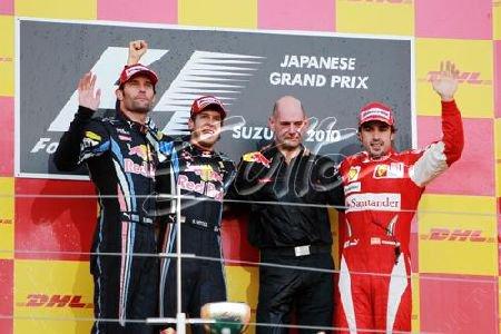 GP du Japon: Course Vettel reprend espoir