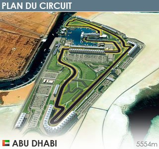 GP d'Abu Dhabi: Présentation du tracé
