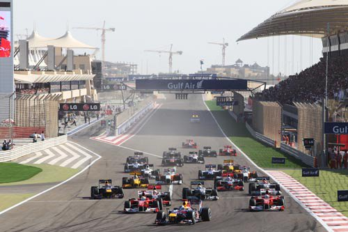 F1 Saison 2011: le plateau à l'heure actuelle