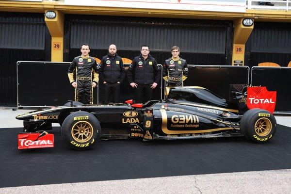 Présentation de la Lotus-Renault