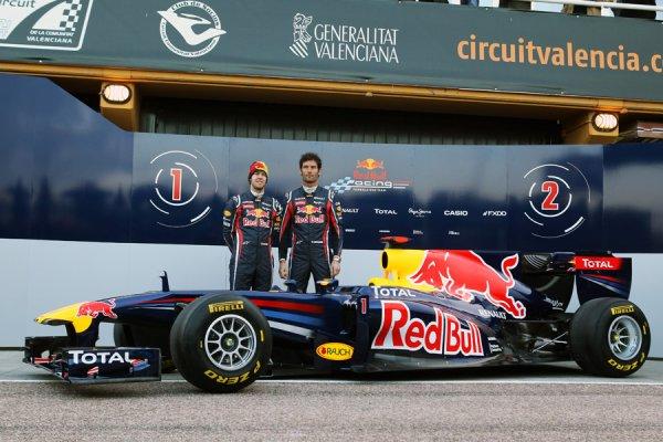La nouvelle Red-Bull est arrivée