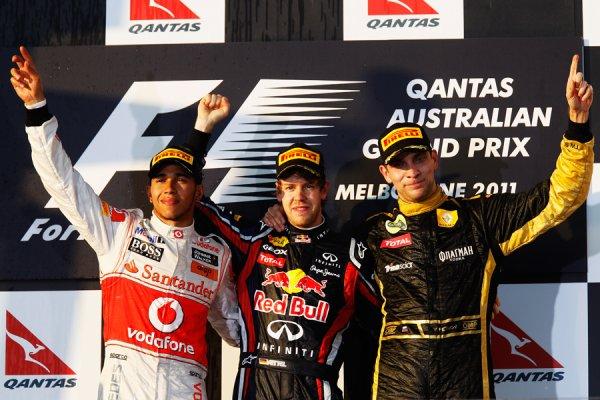 GP d'Australie: Course: Vettel et les autres
