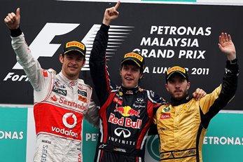 GP de Malaisie: Course: Vettel sans rival