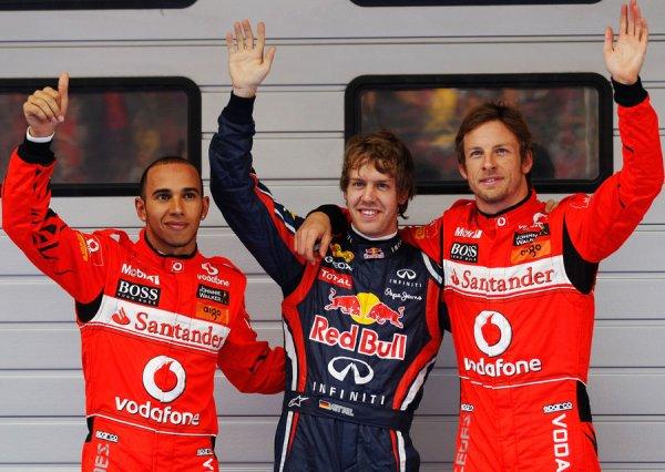 GP de Chine: Vettel...... et les autres