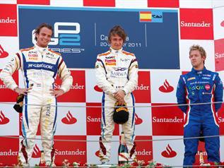 GP2 Barcelone: Course 1: Victoire de Pic