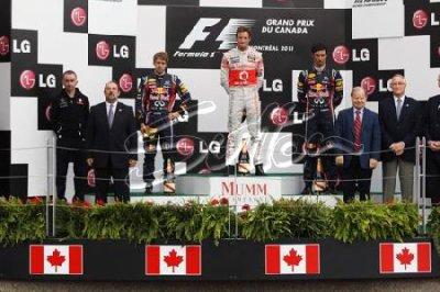 GP du Canada: Course; Victoire légendaire de Button