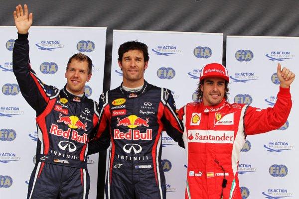 GP de Grande-Bretagne: Qualifications: Webber entre 2 gouttes