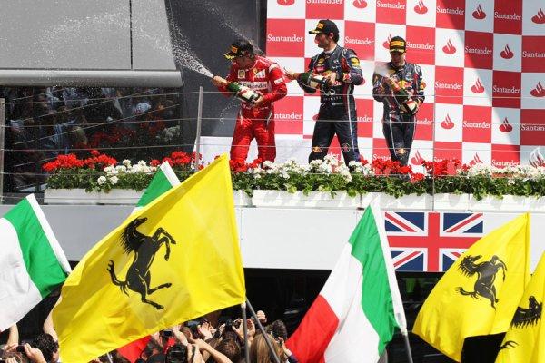 GP de Grande-Bretagne: Course: Fernando bat Goliath Vettel