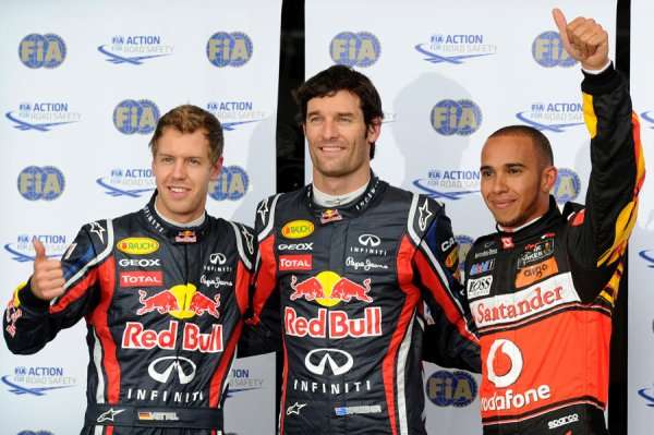 GP d'Allemagne: Qualifications: Webber sauve l'invincibilité Red-Bull