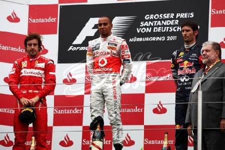 GP d'Allemagne: Course: Un grand Hamilton, un petit Vettel