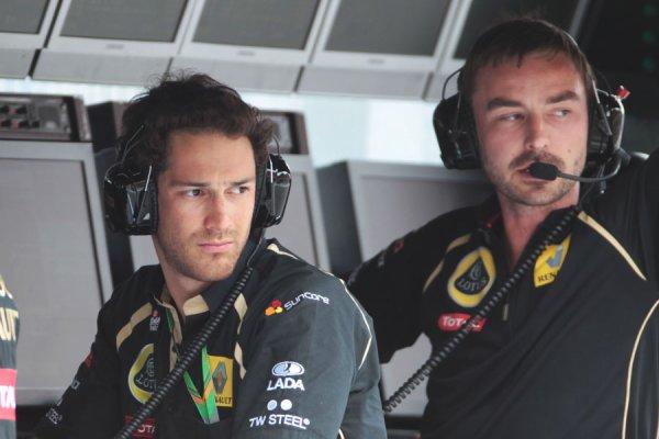 Bruno Senna titulaire chez LRGP