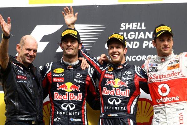 GP de Belgique: Vettel le bon élève