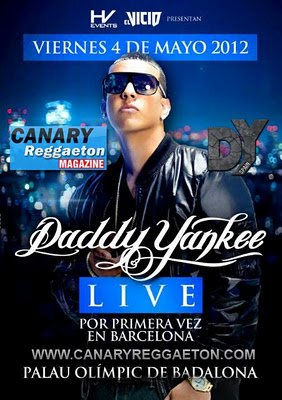 Daddy Yankee Concierto En Palau Olimpic De Badalona (Barcelona) El 4 De Mayo