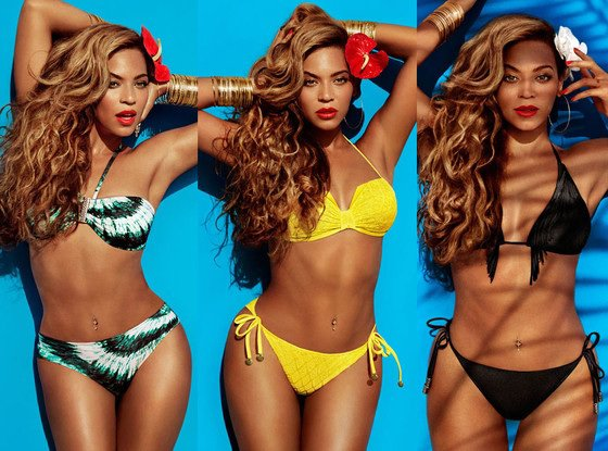 Beyonce donne l'image pour H&M