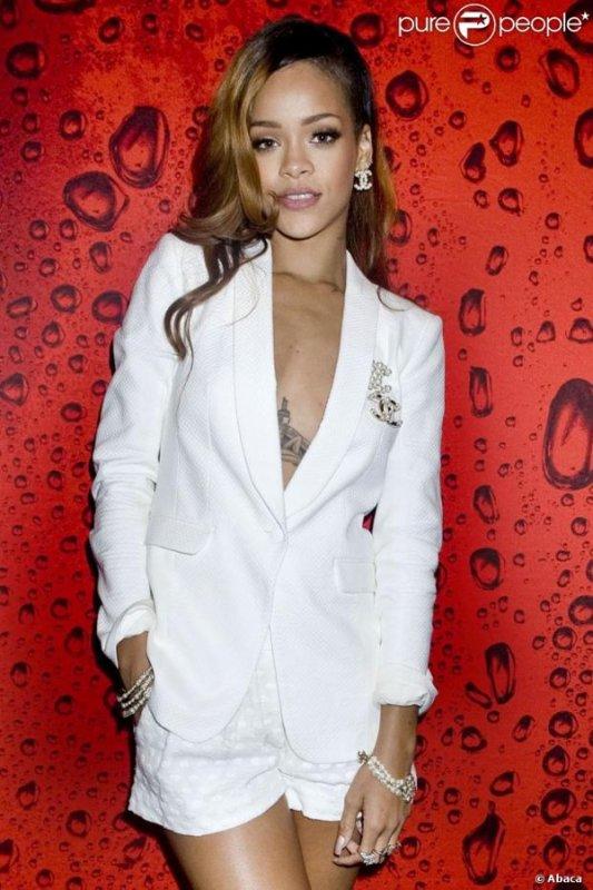 Rihanna sont retour à L.A