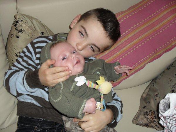 mes fils mon ange et mon grand je vous aimes ma vie