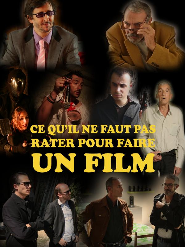 CE QU'IL NE FAUT PAS RATER POUR FAIRE UN FILM - Affiche