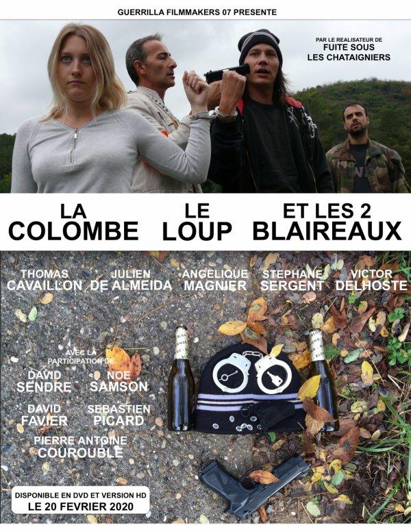 LA COLOMBE, LE LOUP ET LES 2 BLAIREAUX - Moyen Métrage