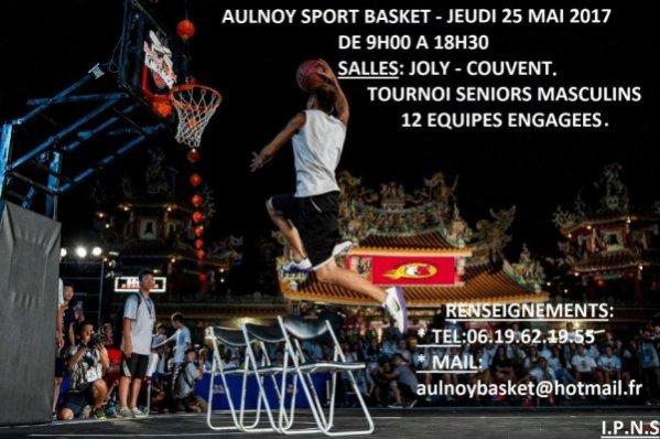 SCORES TOURNOI SENIORS LE 25.05.2017 A AULNOY