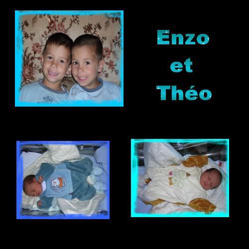 Enzo et Théo!!