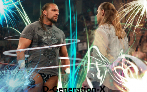 triple h and shawn