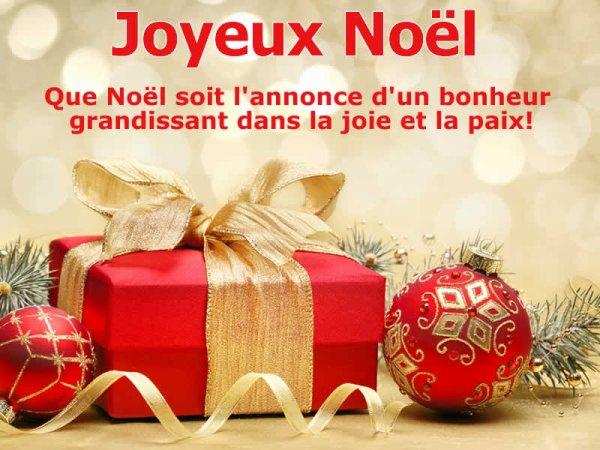341 ) Joyeux Noel à tous et toutes