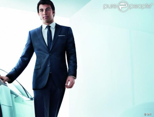 Perez nouvel ambassadeur pour Hugo Boss !!!