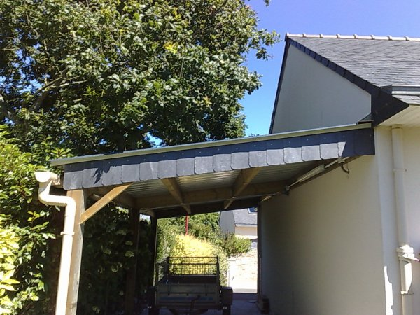 finition carport