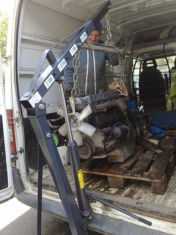moteur du HJ45 à la maison