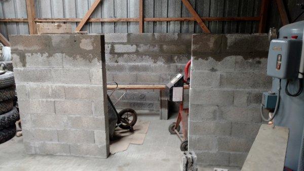 suite construction du local