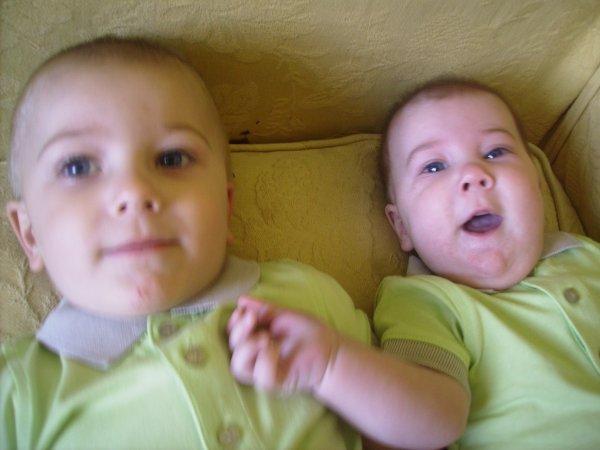 mes deux neveu