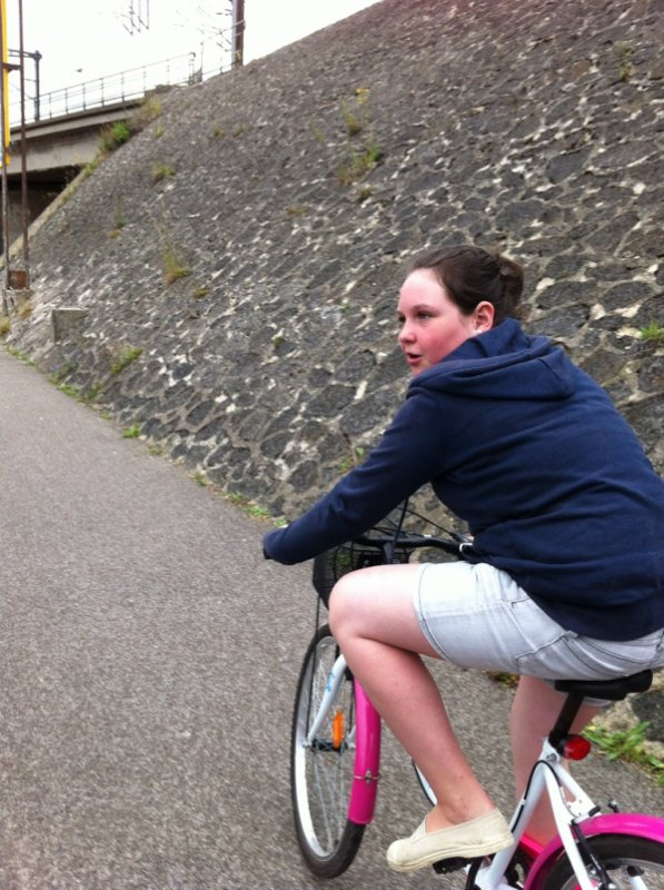 Balade à vélo hier soir après le boulot.