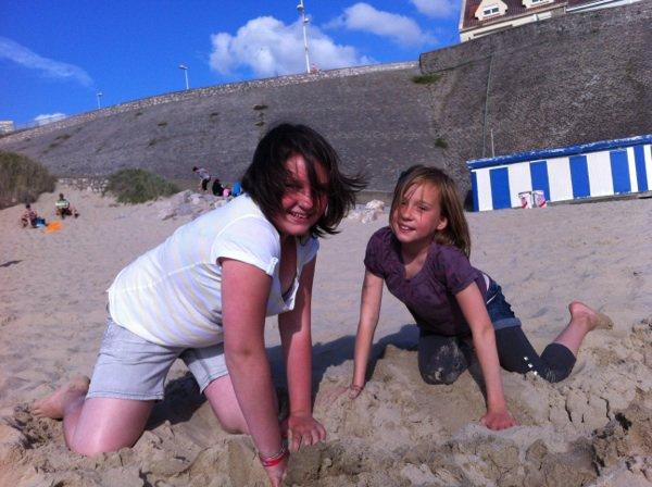 En direct de la plage ça sent les vacances