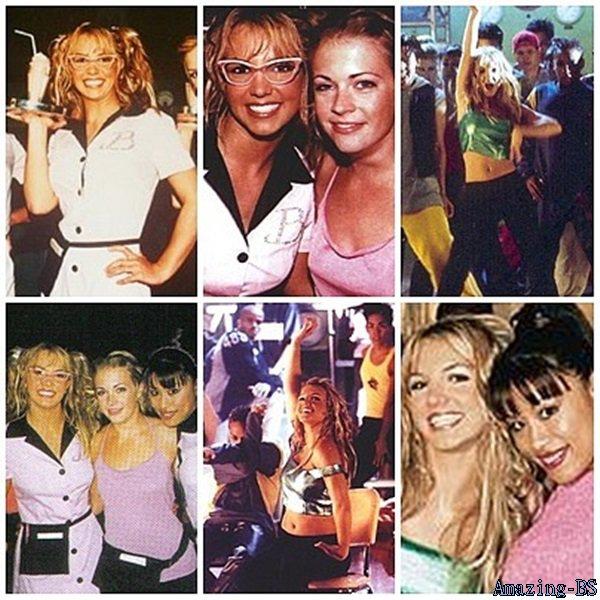 """Photos prise lors du tournage du clip """"(You drive me) Crazy"""", 1999"""