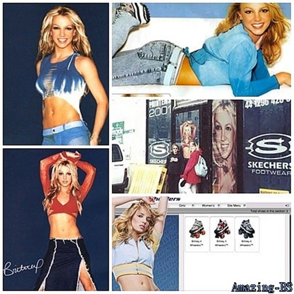 Britney Spears pour Skeckers, 2002