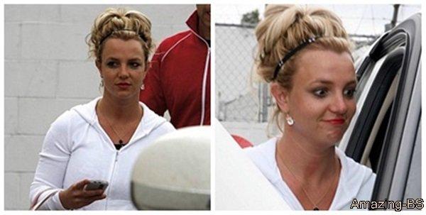 Britney se rend au Bally Total Fitness, 2008