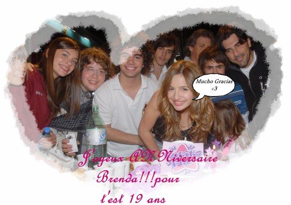 L' anniversaire de brenda ! a été le 17 octobre 2010