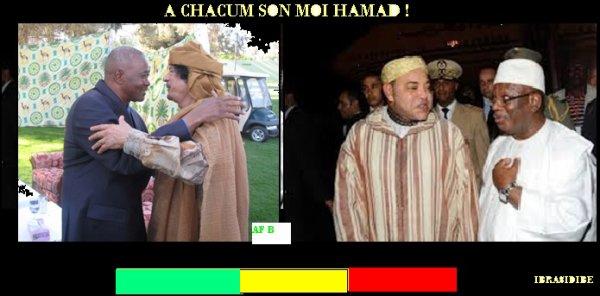 au Mali a chaque president son Moi hamad