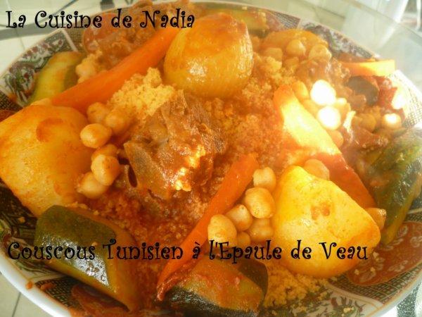 bon appétit !!!!couscous tunisien