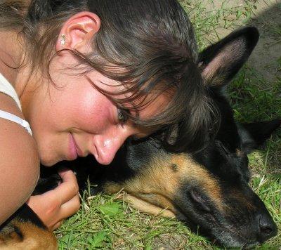 Tchika, la plus magnifique des chiennes !